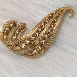 Monet Vintage Gold Pin
